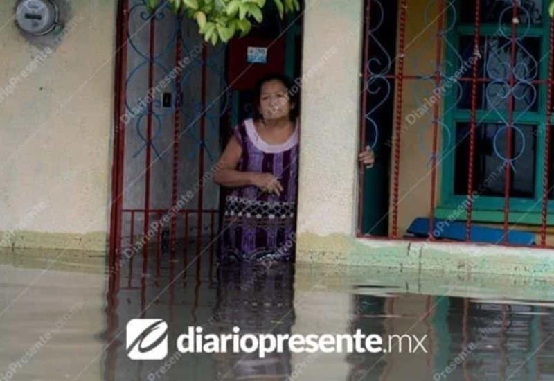 Tabasqueños reviven inundación del 2007, así luce la Colonia Gaviotas Sur