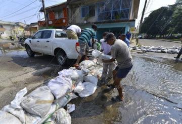 Éxodo y calvario viven en gaviotas debido a la inundación