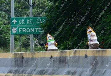 Peregrinos viajan a la Basílica de Guadalupe; transitan por la Villahermosa-Frontera