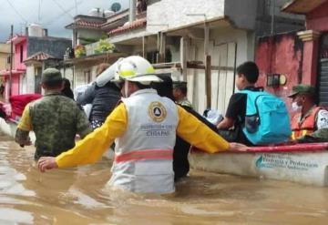Chiapas pide ayuda para damnificados por lluvias