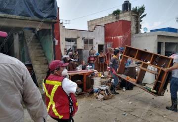 Inician limpieza en La Lima
