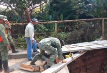 Desbordamiento de Río de la Sierra afecta a más de dos mil personas