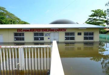 Reportan daños en 387 escuelas
