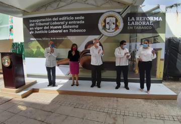 Inauguran Tribunal Laboral; entra en vigor el Nuevo Sistema de Justicia Laboral