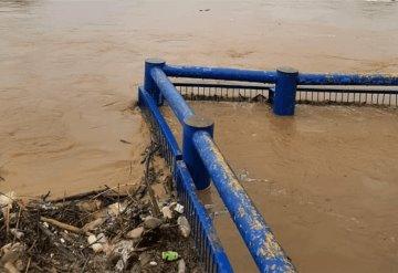 Alerta en Jalapa por incremento del Río de la Sierra