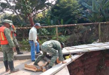 2,900 casas se inundaron en Jalapa