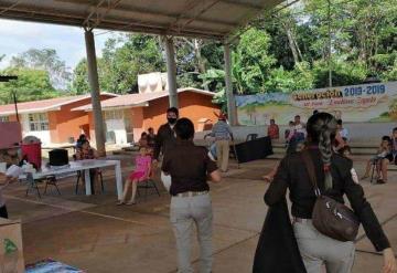 Continúa INM apoyo a damnificados en Tabasco