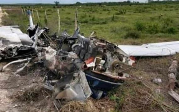 Caen narco avionetas en Campeche