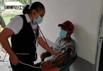 Jurisdicción Sanitaria #11 apoya a damnificados a través de brigadas de promoción a la salud