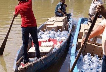 Alerta total por el incremento del río Usumacinta en Jonuta
