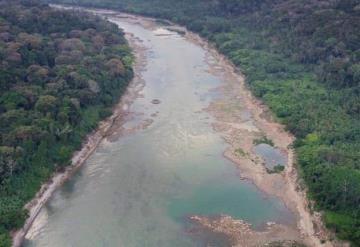 Un incremento de tres centímetros registró a las 18 horas el río Usumacinta