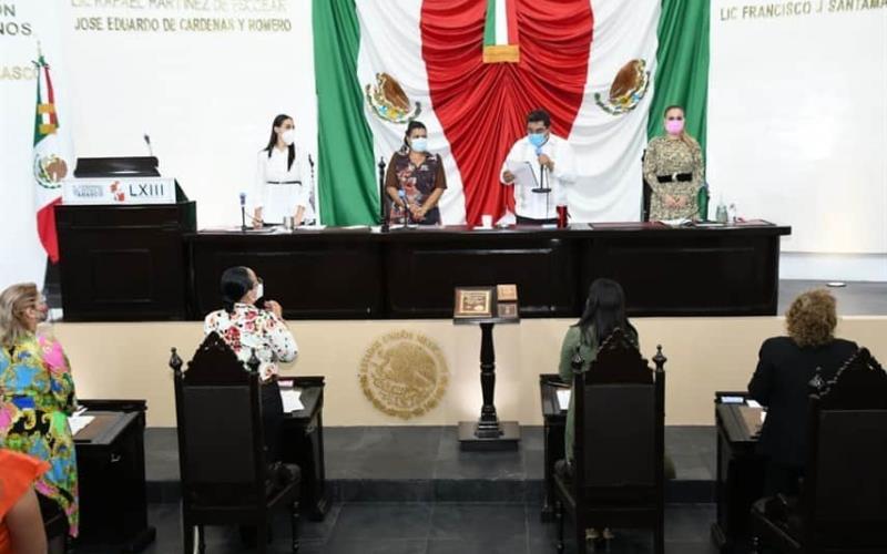 Así será la sesión solemne donde el Gobernador de Tabasco dará su segundo informe