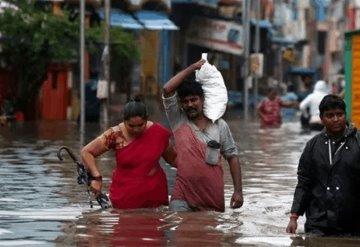 Ciclón Nivar deja 3 muertos en India