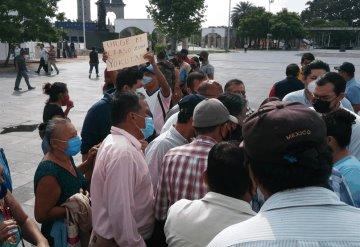 Habitantes de Tamulté de las Sabanas se manifiestan por que no fueron censados