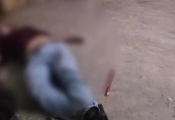 Ejecutan a hombre en las inmediaciones de la colonia Lázaro Cárdenas en Tenosique