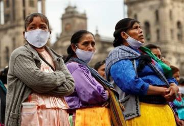 8 de cada 10 comunidades indígenas en México registran contagios por COVID-19
