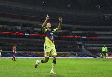 Mauro Laínez soñó su debut en el América