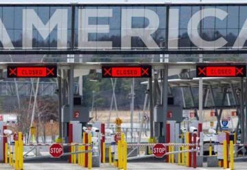 Extienden cierre parcial de frontera México - Estados Unidos