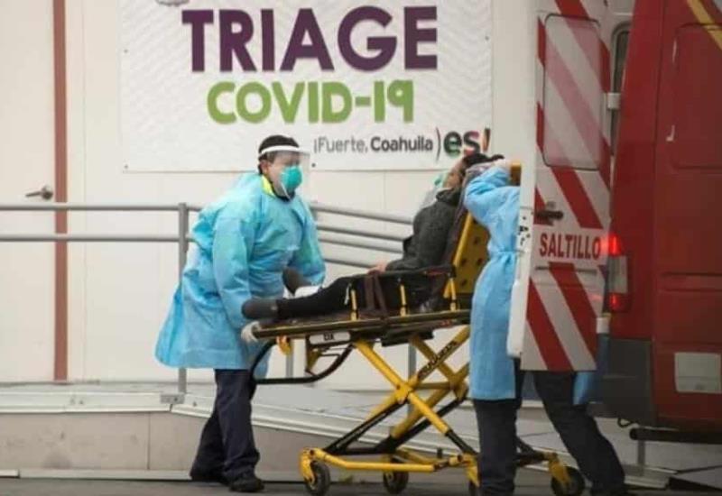 Estados Unidos rompe récord de muertes diarias por COVID-19
