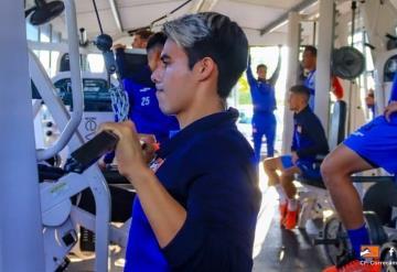 Marco Montelongo se está recuperando de problemas musculares