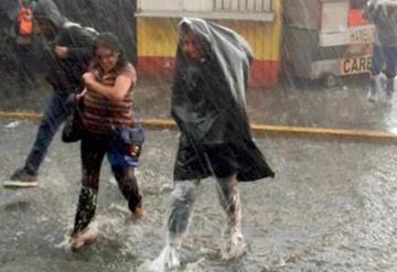 Se pronostican lluvias puntuales muy fuertes para Chiapas, Tabasco y el sur de Veracruz