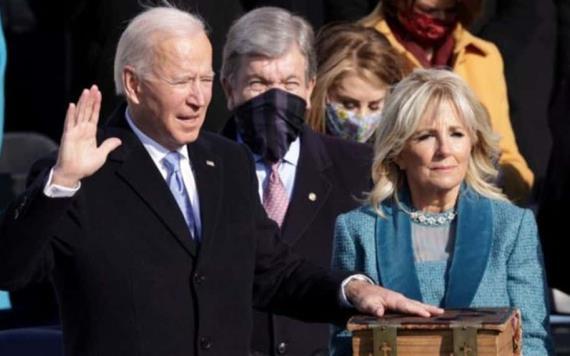 Este es el día de Estados Unidos: Biden