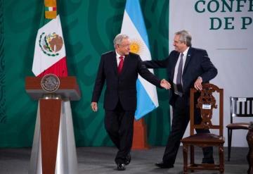 ´Tienen primer presidente honesto´: Alberto Fernández, presidente de Argentina