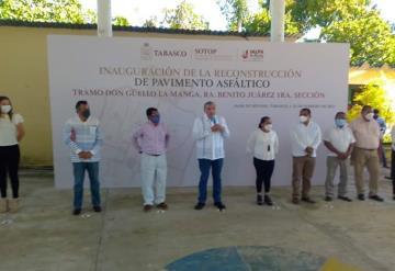 Gobernador de Tabasco inicia gira de trabajo en Jalpa de Méndez