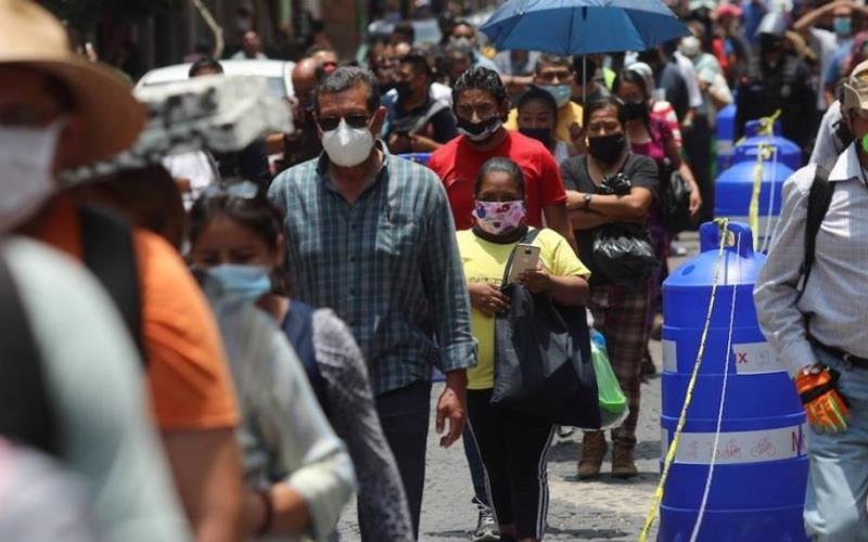México suma 2 millones 084 mil 128 casos positivos de COVID-19