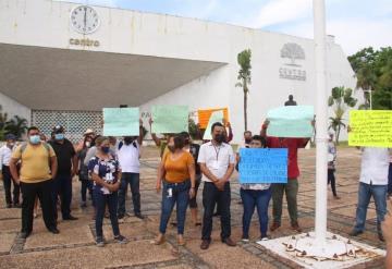 Delegados municipales exigen pago salarial