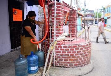 Sufren familias por falta de agua en municipio de Centro