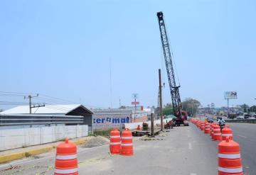 Inician trabajos de reparación en puente La Pigua