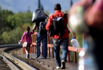 Analizan salud de migrantes por COVID