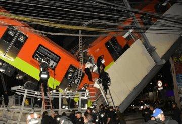 Hasta el momento van 23 fallecidos por desplome de puente en Línea 12