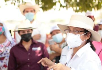 Harán portal para atención ciudadana, anuncia Yolanda Osuna, candidata de Morena
