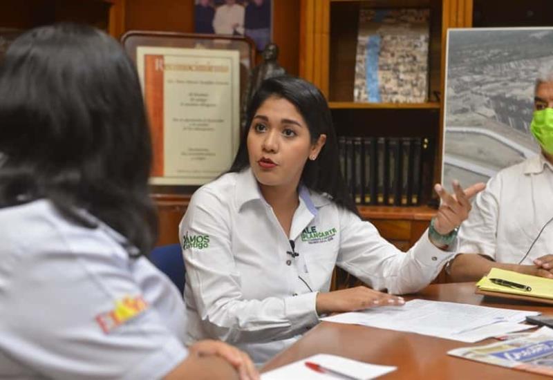 Alejandra Plancarte quiere el voto de confianza