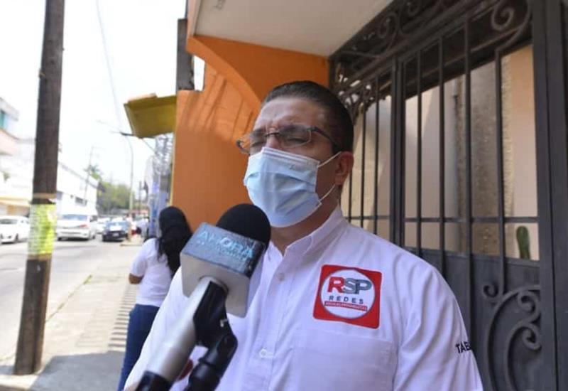 Ningún candidato ha solicitado seguridad, asegura León Felipe Morales Ariza dirigente del partido RSP