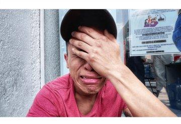 """""""Me dio mi último beso"""": Novio de Nancy se entera de su muerte tras el desplome de la Línea 12"""