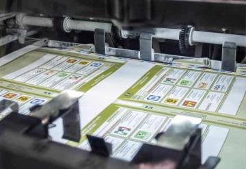 A partir de este lunes, arranca la impresión de boletas electorales