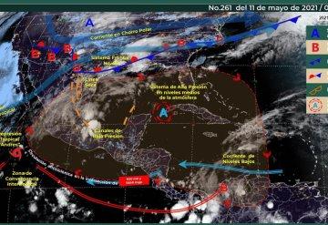 Pronóstico del clima para este martes 11 de mayo de 2021
