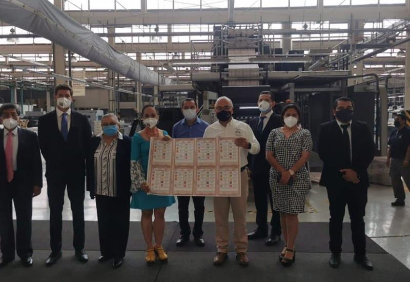 Inician impresión de las boletas electorales en Tabasco