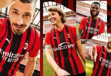 AC Milán presenta su nueva camiseta