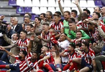 Atlético de Madrid campeón después de 7 años