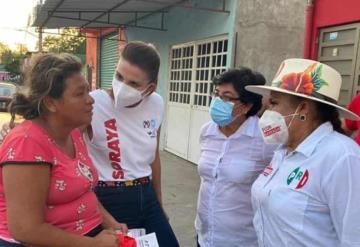 Tabasco necesita un cambio: Soraya Pérez