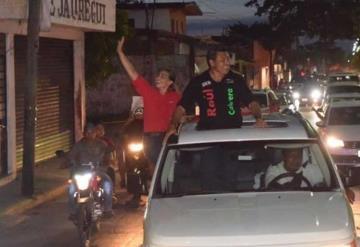 Con un cierre de campaña espectacular llega Raúl Cabrera a los 45 días de campaña