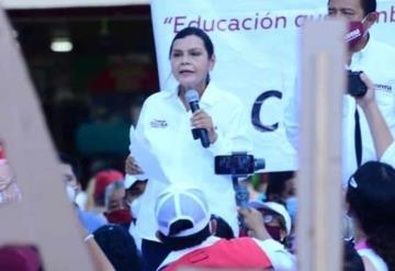 Busca el voto ciudadano para ganar las elecciones:  Yolanda Osuna Huerta