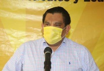El dirigente estatal del PRD Javier Cabrera denunciará al edil de Huimanguillo por estar metido en el proceso electoral