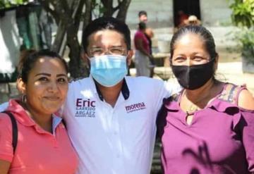 El candidato de morena a la Presidencia Municipal, Tabasco, Eric Garrido efectuó cierre de campaña en las R/As. Corozal y San Cristóbal