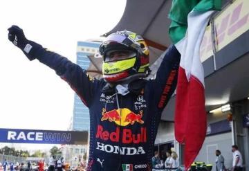 ´Checo´ Pérez gana el Gran Premio de Azerbaiyán