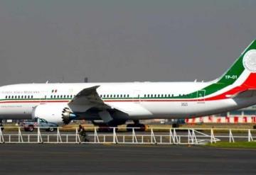 """Se vendió el avión presidencial """"Benito Juárez"""" en 65 millones de pesos"""